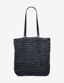 Rivers Paper Straw Shoulder Bag