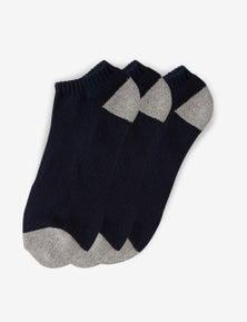 Rivers 3 Pack Ankle Socks