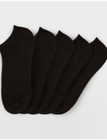 Rivers Mens 5 Pack Core Ankle Socks