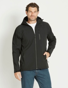 Rivers-Tex Hooded Soft Shell Jacket