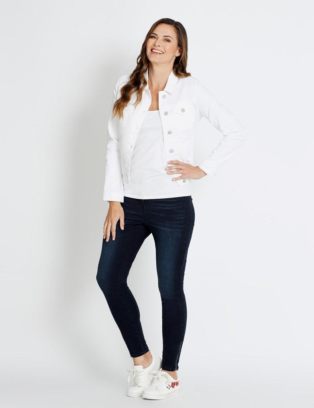 pants, shirt, denim jacket, adidas Wheretoget