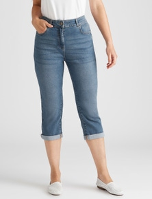 Rivers 5 Pocket Crop Jean