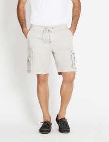 Rivers Elastic Waist Cargo Short