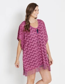 Rivers Zig-Zag Beach Cover Up