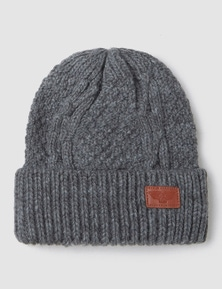 Rivers Mens Cable Knit Beanie