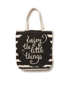 Rivers Printed Canvas Tote Bag