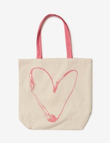 Rivers Printed Canvas Tote Bag