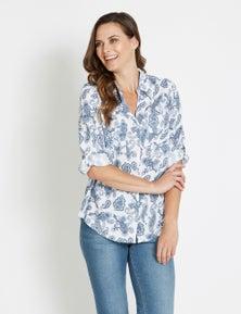 Rivers Pocket Front 3/4 Sleeve Shirt