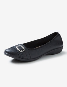 Rivers Leathersoft Ballet Flat