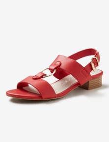 Riversoft Trim Block Heel Sandal