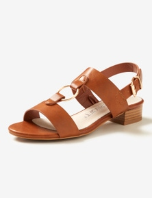 Riversoft Trim Block Heel Sandal
