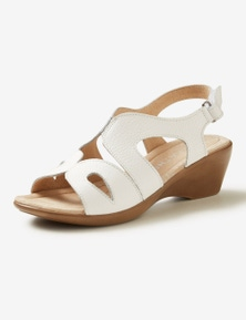 Rivers Leathersoft Wedge Sandal