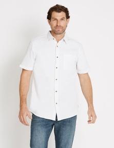 Rivers Short Sleeve Textured Shirt