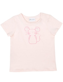 Pumpkin Patch Baby Girl Mouse Print Tee
