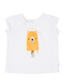 Pumpkin Patch Unisex Baby Animal Ice Cream Tee