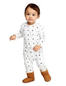 Pumpkin Patch Unisex Baby Triangle Long Sleeve Jumpsuit