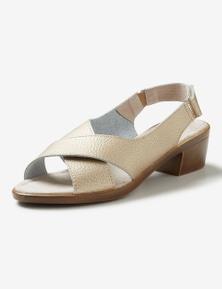 Rivers Leathersoft Block Heel Sandal