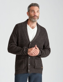 Rivers Shawl Neck Button Cardigan