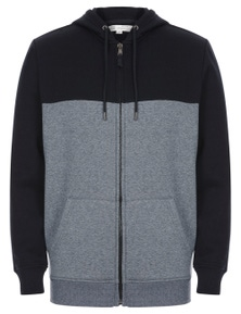 Rivers Grindle Cut and Sew Zip Front Hoodie