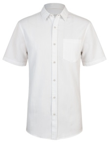 Rivers Short Sleeve Soft Touch Stripe Shirt
