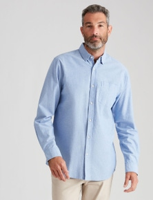 Rivers Long Sleeve Oxford Shirt