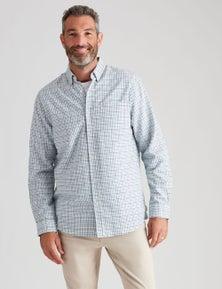 Rivers Long Sleeve Cotton Gingham Shirt