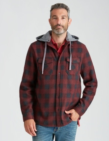 Rivers Hooded Polarfleece Shirt