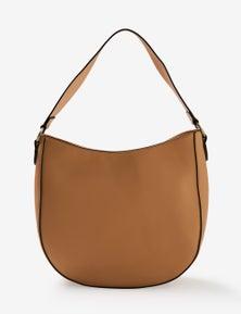 Rivers PU Hobo Shoulder Bag