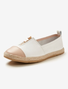 Rivers Leathersoft Zip Espadrille
