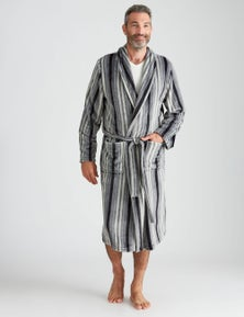 Rivers Vertical Stripe Robe