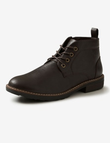 Rivers Non-Leather Lace Up Boot