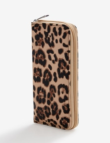 Rivers Leopard Print Wallet