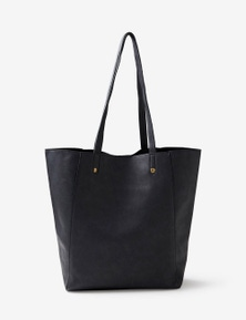 Rivers PU Tote Bag with Stud Detail