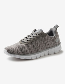 Rivers Barefoot Memory Foam Knitted Lace Up