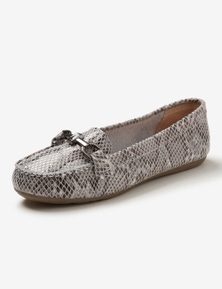 Rivers Leasthersoft Trim Casual Loafer