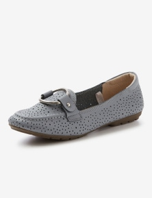 Rivers Leathersoft Ring Trim Loafer