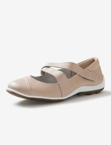 Rivers Leathersoft Assymetric Casual Mary Jane
