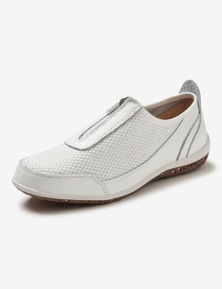 Rivers Leathersoft Zip Casual Shoe