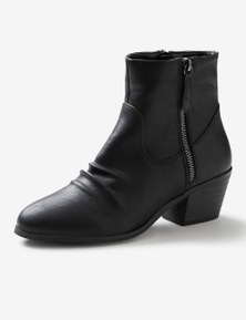 Riversoft Ruched Western Boot