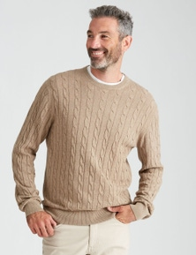 Rivers Cable Knit Jumper