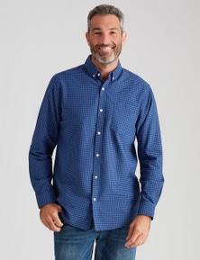 Rivers Long Sleeve Cotton Oxford Gingham Shirt