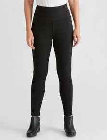 River Tiered Waistband Ponte Pant