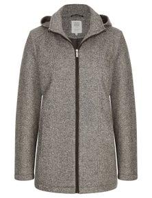 Rivers Zip Thru Hooded Jersey Jacket