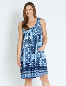 Rivers Sleeveless Pocket Midi Dress