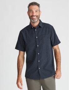 River Short Sleeve Soft Touch Print Shirt