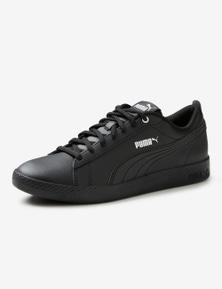 Puma Womens Smash Leather Sneaker