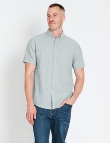 Rivers Short Sleeve Linen Cotton Shirt