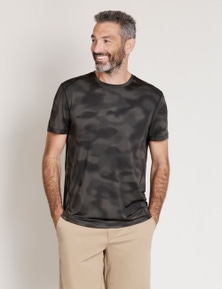 River Camoflage Active Tee