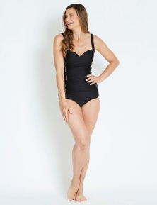 Rivers Ruched Textured Tankini