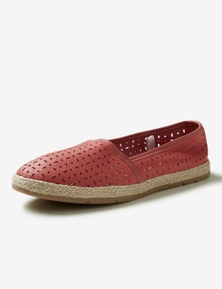 Rivers Leathersoft Espadrille Shoe